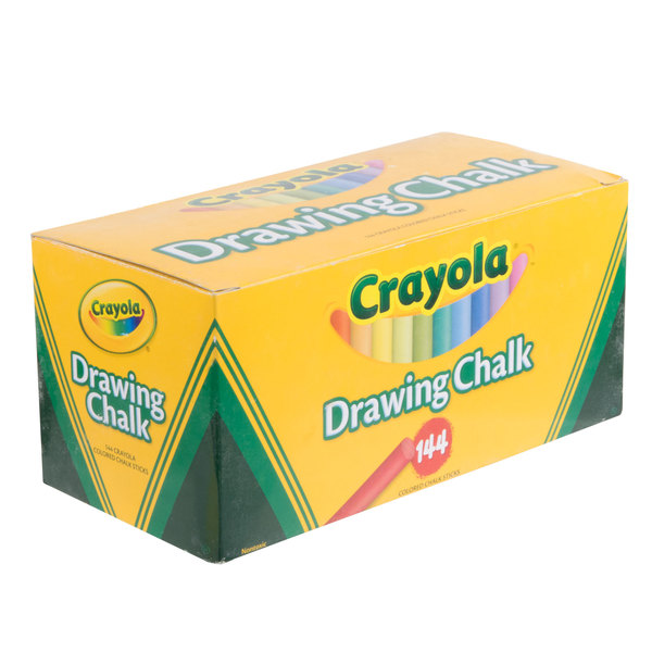 24 Count Assorted Drawing Chalk