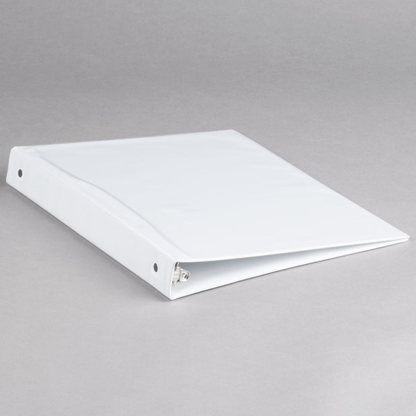 Avery 5711 White Economy View Binder with 1 inch Round Rings