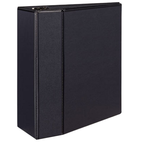 Avery 9900 Black Durable View Binder with 5 inch Locking One Touch EZD Rings