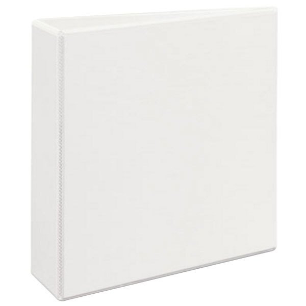 "Avery 9701 White Durable View Binder with 3"" Non-Locking One Touch EZD Rings"