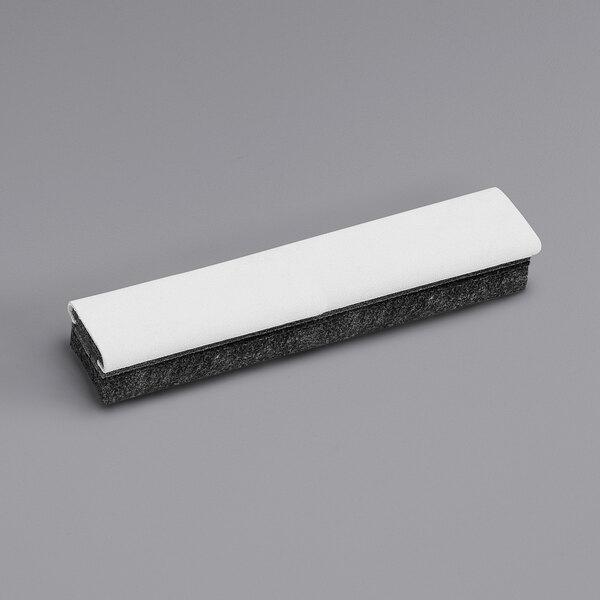 "Quartet 807222 12"" x 2"" Felt Deluxe Chalkboard Eraser / Cleaner Main Image 1"