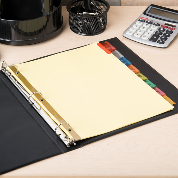 avery 11111 big tab buff paper 8 tab multi color insertable dividers