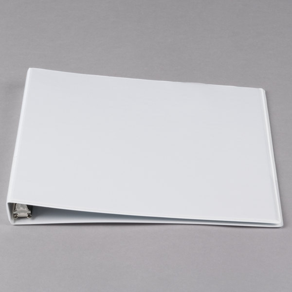 Avery 5706 White Economy View Binder with 1/2 inch Round Rings