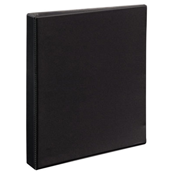 """Avery 9300 Black Durable View Binder with 1"""" Non-Locking One Touch EZD Rings"""