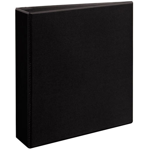 """Avery 5500 Black Heavy-Duty Non-Stick View Binder with 2"""" Slant Rings"""