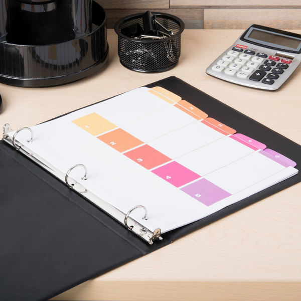 Avery 11131 Ready Index 5-Tab Multi-Color Table of Contents Dividers Main Image 6