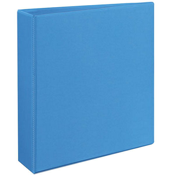 "Avery 5501 Light Blue Heavy-Duty Non-Stick View Binder with 2"" Slant Rings"