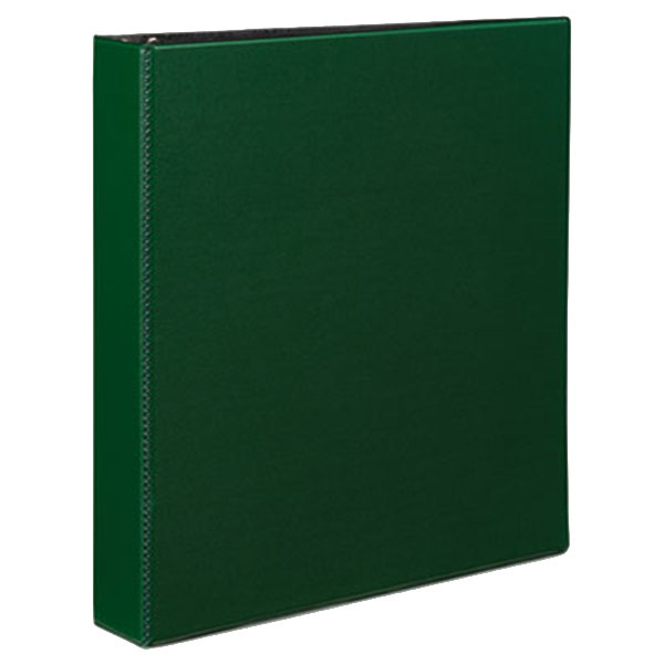 "Avery 27353 Green Durable Non-View Binder with 1 1/2"" Slant Rings Main Image 1"
