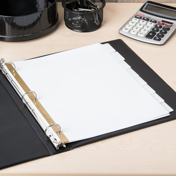 Avery 23078 Big Tab Write & Erase 8-Tab White Dividers Main Image 6