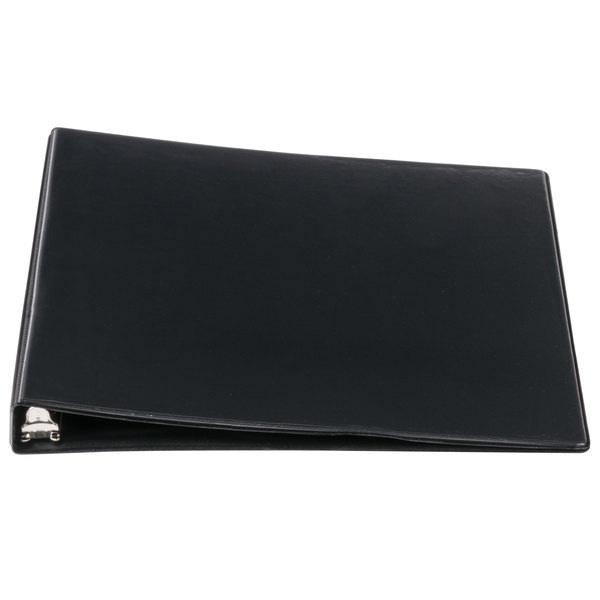Avery 05705 Black Economy View Binder with 1/2 inch Round Rings