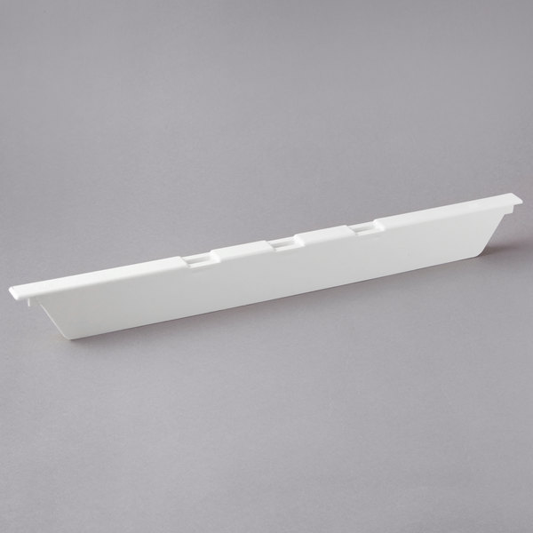 "Cambro DIV20148 White 20"" Divider / Adapter Bar for Cambro Food Bars"