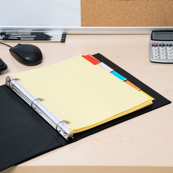 Avery 23280 Big Tab 5-Tab Multi-Color Tab Dividers with Copper Reinforcements