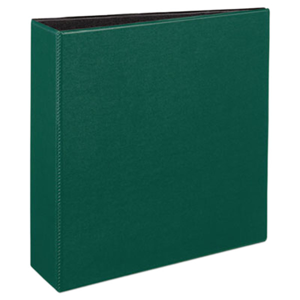 "Avery 27653 Green Durable Non-View Binder with 3"" Slant Rings Main Image 1"