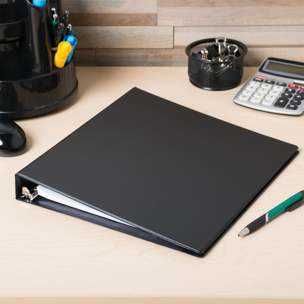 "Avery 27250 Black Durable Non-View Binder with 1"" Slant Rings"