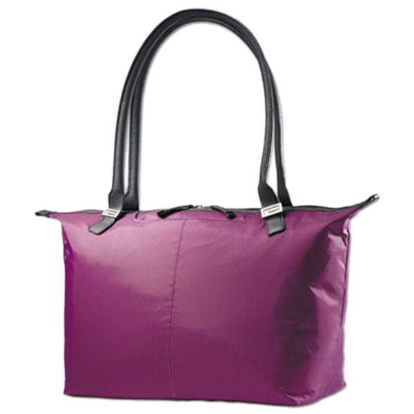 """Samsonite 494602036 Jordyn 21 1/4"""" x 12"""" x 7 1/2"""" Amethyst Top Loader Laptop Case / Tote Bag"""