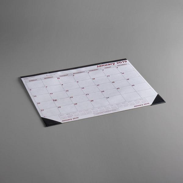 Desk Pad Calendar 2020 Rediform C1731 Brownline 22