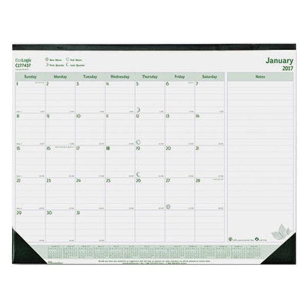 Calendar Dec 2017 January 2020 Monthly January 2020   December 2020 Desk Pad Calendar