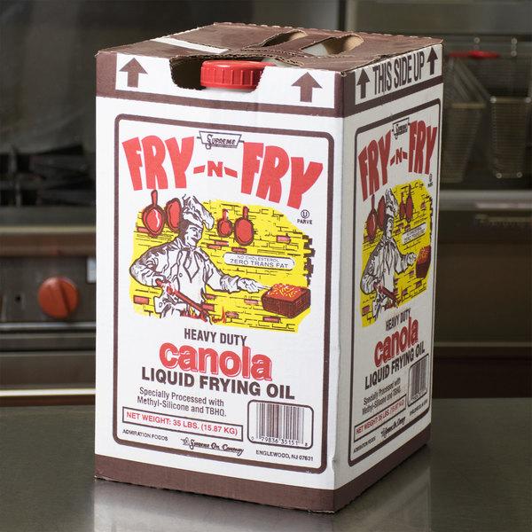 Admiration Canola Frying Oil - 35 lb.