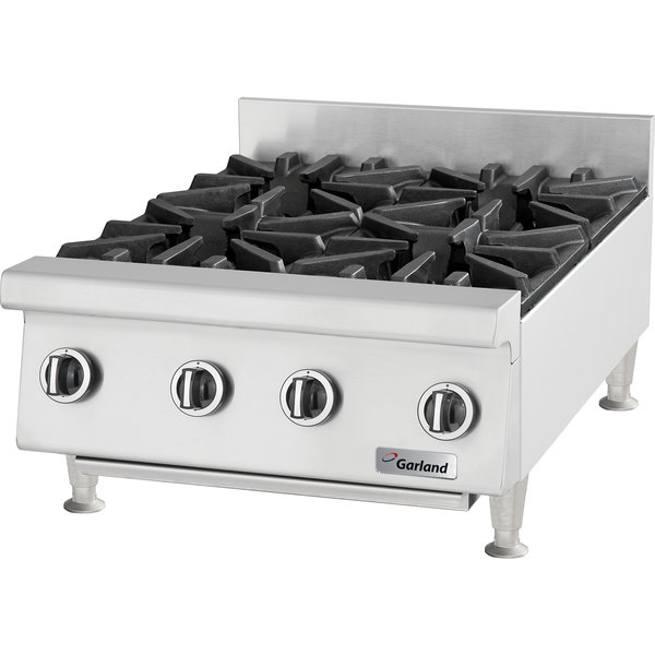 "Garland GTOG36-6 Natural Gas 6 Burner 36"" Countertop Range - 180,000 BTU"