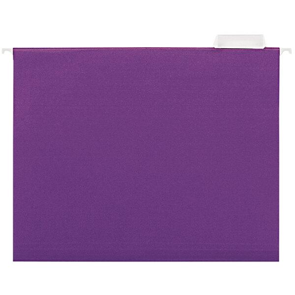 UNV14120 Letter Size Hanging File Folder - 25/Box Main Image 1