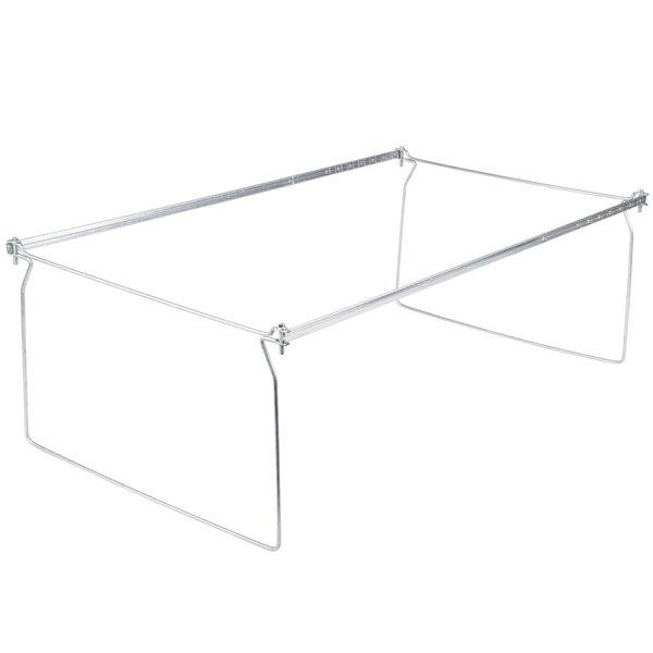 """Universal UNV18000 23"""" - 26 3/4"""" Adjustable Steel Hanging File Folder Frame, Legal Main Image 1"""