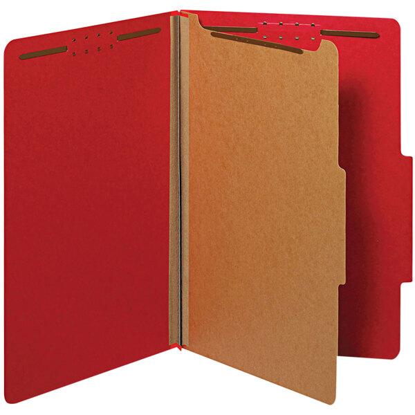 Universal UNV10213 Legal Size Classification Folder - 10/Box Main Image 1