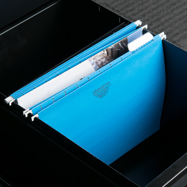 UNV14116 Letter Size Hanging File Folder - 25/Box Main Image 9