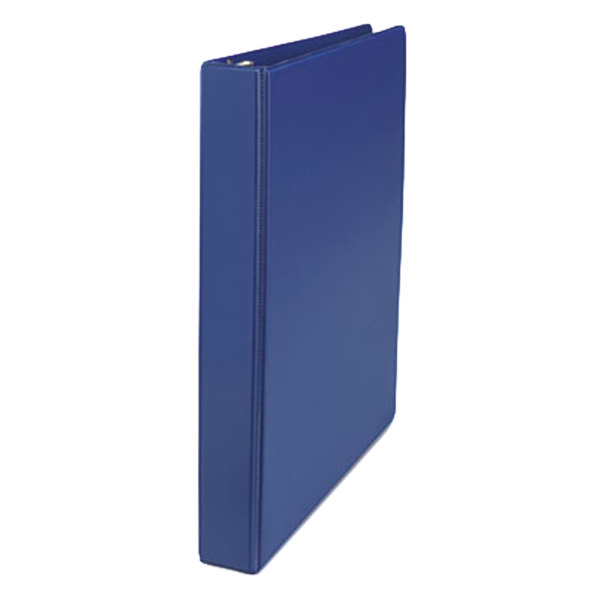 "Universal UNV20765 Royal Blue Economy Non-View Binder with 1"" Slant Rings Main Image 1"