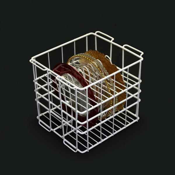"10 Strawberry Street GPLTR12 12 Compartment Catering Plate Rack for Glass Charger Plates up to 13"" - Wash, Store, Transport Main Image 1"