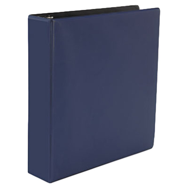 """Universal UNV20788 Navy Blue Non-View Binder with 2"""" Slant Rings Main Image 1"""