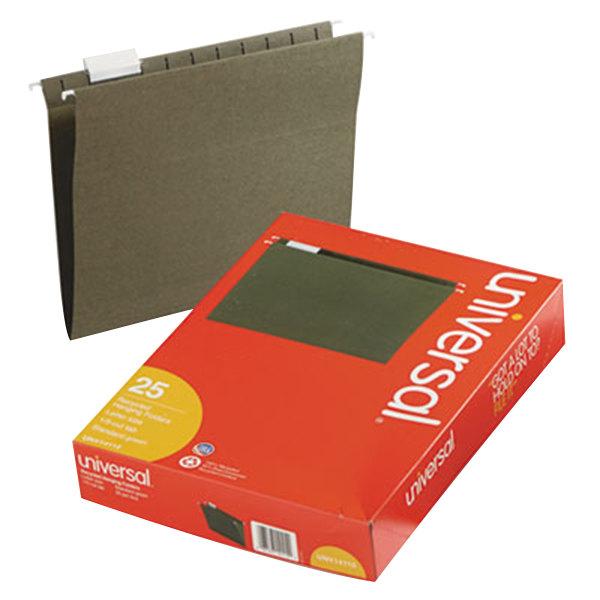 UNV14115 Letter Size Hanging File Folder - 25/Box