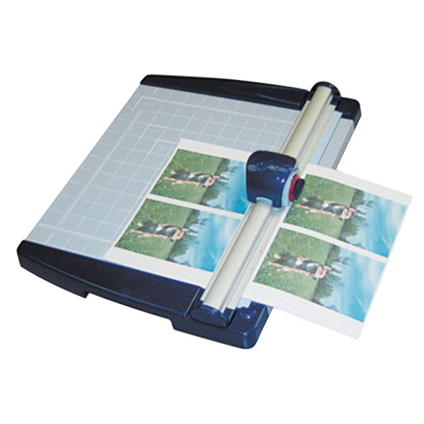 """X-Acto 26451 11"""" x 12"""" 10 Sheet Rotary Paper Trimmer with Metal Base"""