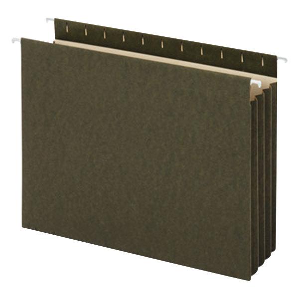 UNV14160 Letter Size Box Bottom Hanging File Folder - 10/Box