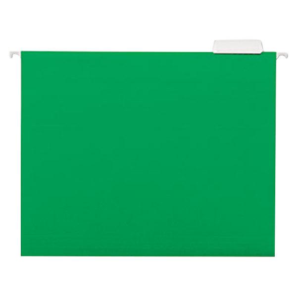 UNV14117 Letter Size Hanging File Folder - 25/Box Main Image 1