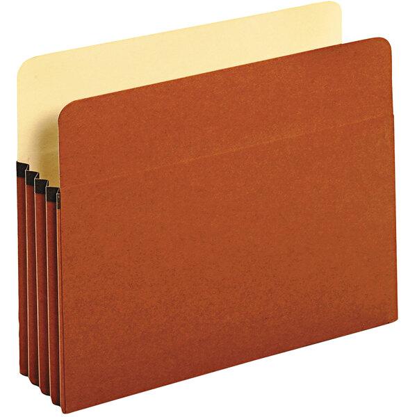 Universal UNV15343 Letter Size File Pocket - 25/Box Main Image 1