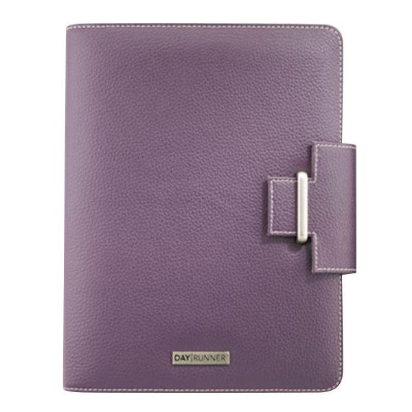 """Day Runner 4010214 Terramo 5 1/2"""" x 8 1/2"""" Purple Day Planner Main Image 1"""
