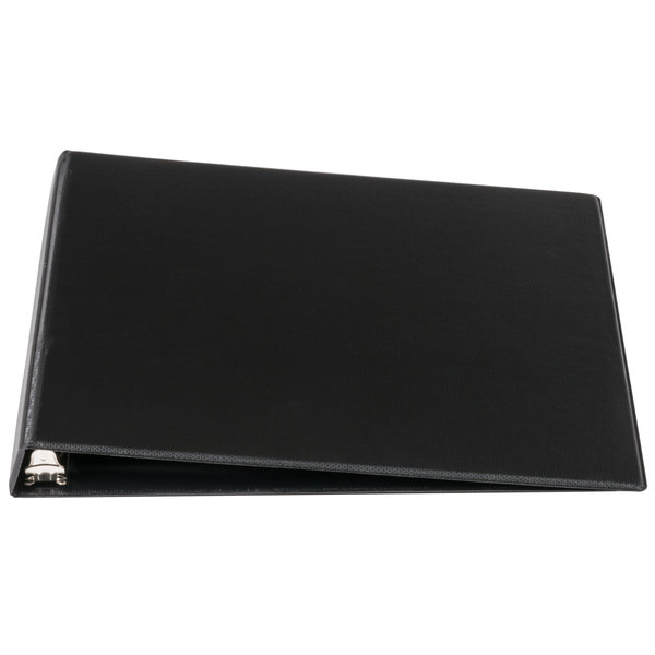 Universal UNV30401 Black Economy Non-Stick Non-View Binder with 1/2 inch Round Rings
