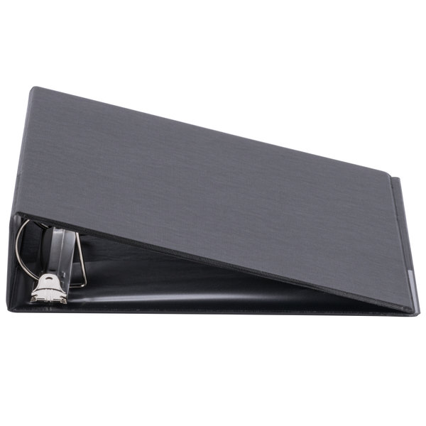Universal UNV20781 Black Non-View Binder with 2 inch Slant Rings