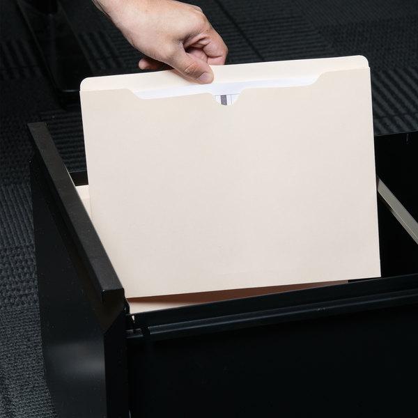 Universal UNV74300 Letter Size Economy File Jacket - 50/Box Main Image 7