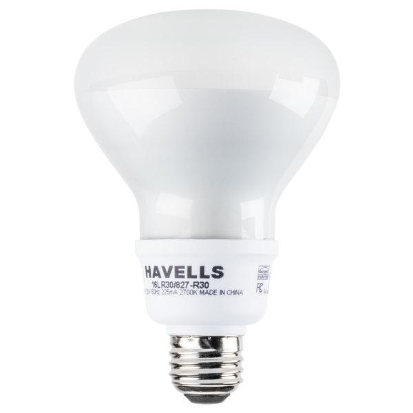 Mini Lynx 16 Watt (65 Watt Equivalent) Compact Fluorescent Reflector Light Bulb - 120V (R30 CFL)