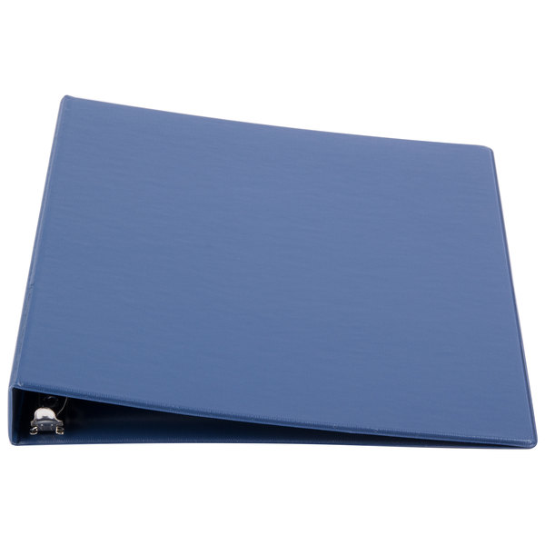 Universal UNV31402 Royal Blue Economy Non-Stick Non-View Binder with 1 inch Round Rings