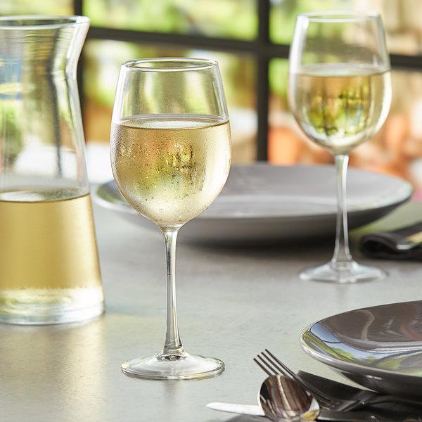 Acopa Select Flora 12 oz. Wine Glass - 12/Case Main Image 2