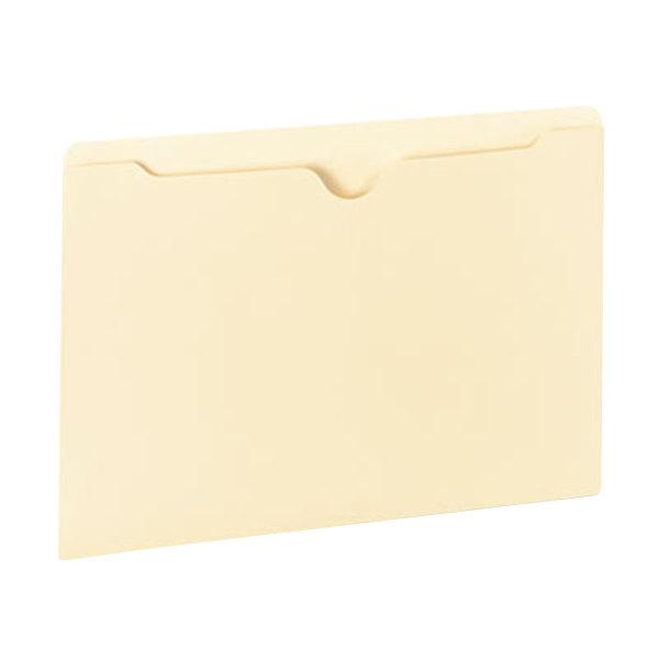 Universal UNV73400 Legal Size File Jacket - Reinforced Straight Cut Tab, Manila - 100/Box