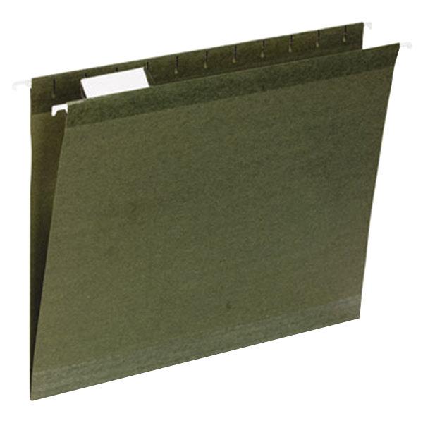 UNV24113 Letter Size Reinforced Hanging File Folder - 25/Box
