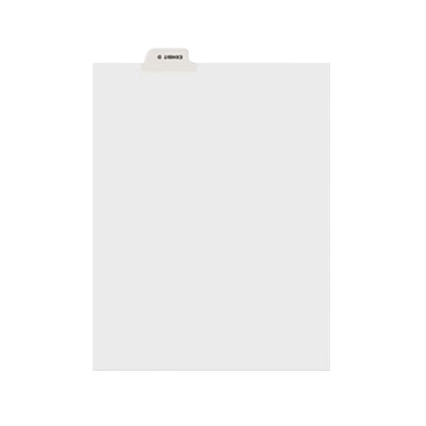 Avery 11943 Individual Legal Exhibit D Bottom Tab Divider - 25/Pack