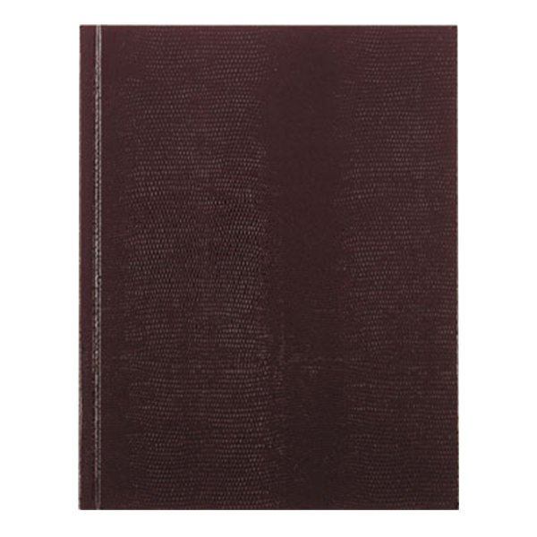 "Rediform Office A7BURG 9 1/4"" x 7 1/4"" Executive Burgundy College Rule Notebook 150 Sheets Main Image 1"