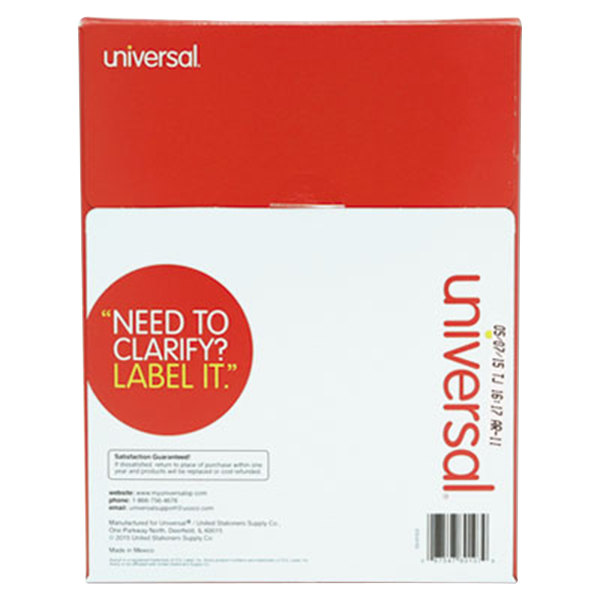 Universal unv80108 3 1 3 x 4 white permanent labels for Universal laser printer labels template