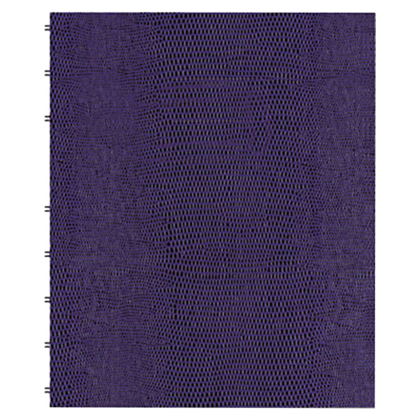 "Blueline AF915086 9 1/4"" x 7 1/4"" Purple College Rule 1 Subject MiracleBind Notebook - 75 Sheets Main Image 1"