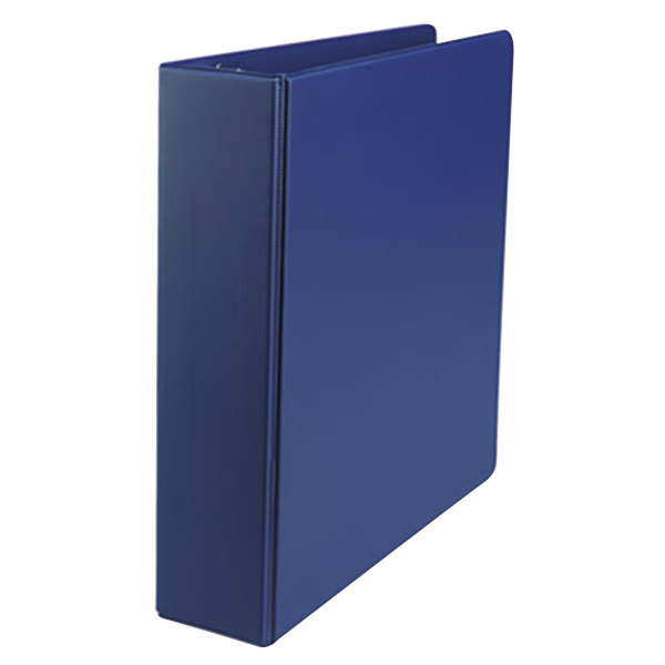 "Universal UNV34402 Royal Blue Economy Non-Stick Non-View Binder with 2"" Round Rings Main Image 1"