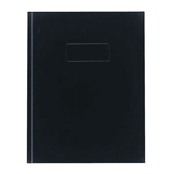 """Rediform Office A982 9 1/4"""" x 7 1/4"""" Blue College Rule Business Notebook 192 Sheets"""